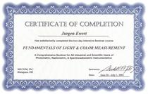 Je certificate colormgmt cv