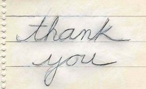 Thankyou cv