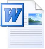 Word icon cv