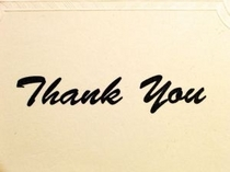 Samples of thank you letters of appreciation cv