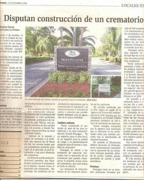 La prensa article cv