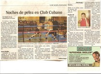 La prensa article 3 cv