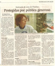 La prensa article 4 cv
