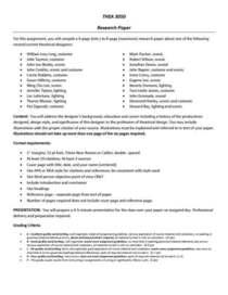 Research paper cv
