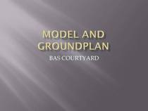 Model and groundplan page 1 cv