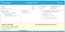 Ticket cv