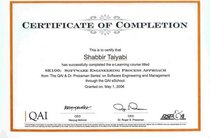 Sepa certificate cv