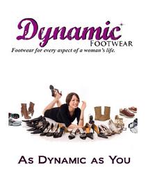 Dynamic footwear 1 cv