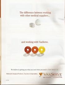 Vaxserve trade ad cv