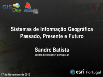 Slideshare gisday cv