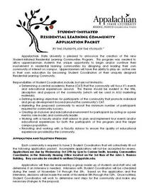 Appal tree application 3 page 1 cv