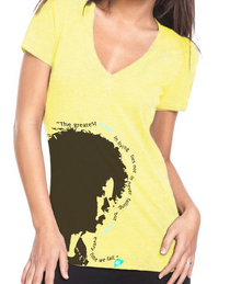 Face shirt yellow cv