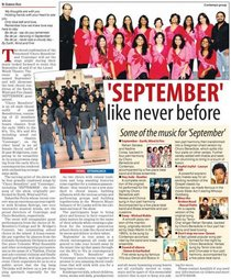 Contempo choir in papers cv