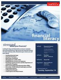 Financial literacy cv