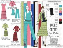 Spring 2011 tulle group cv