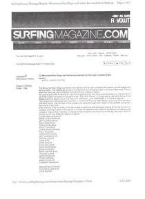 Surfingmag.comopencontest cv