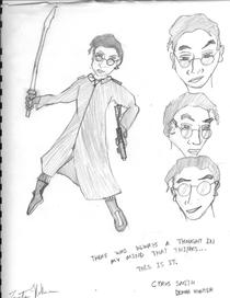 Hero character design cv