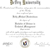 Bachelor of science cv
