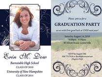 Erins grad invitation cv