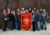 Rotaract group photo cv