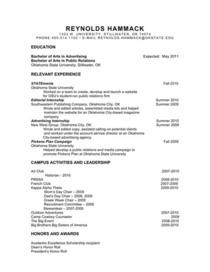 Reynolds hammack resume pdffiller cv