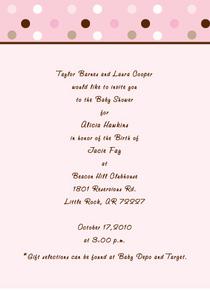 Jb baby invite cv