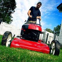 Lawn mower cv