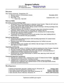 Resume thumb cv