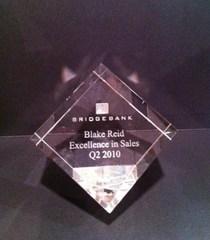 Blake bridgebank award 2010 cv