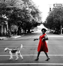 Madame boo in red dress cv