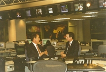 W peter jennings on abc set cv
