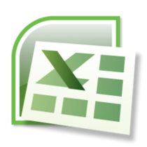 Ms excel logo cv