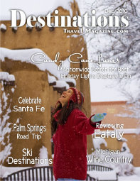 Cover destinations travel magazine cv