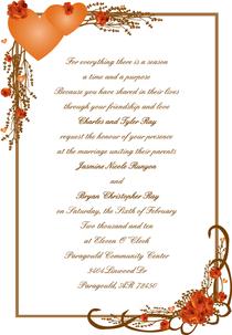 Jasmine invitations cv