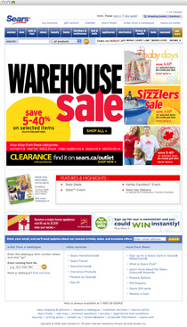 Warehouse sale cv