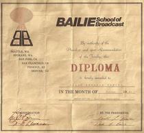 Bailie diploma cv