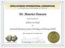 Iic editor in chief jistp cv