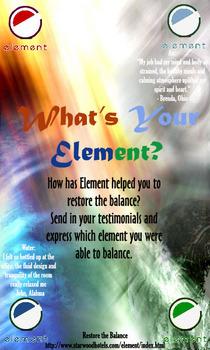 Element web cv