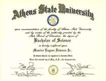Bs diploma cv
