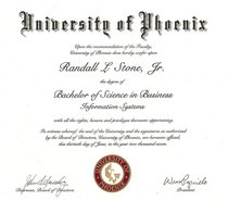 Uop diploma cv