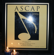 Ascap 2006 pop award cv