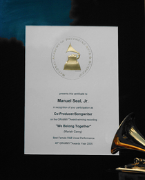 Grammy co producer cv