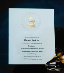 Grammy producer m.carey cv