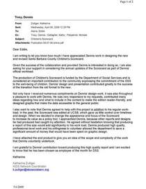 Dennis tivey recommendation page 1 cv
