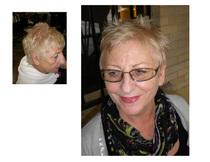 Color correction and hair cut 1 cv