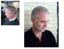 Men haircut 1 cv
