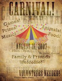 Carnivalposter cv