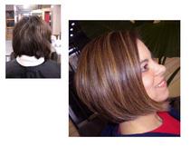 Haircut and highlight cv