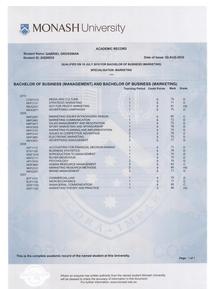 Academic record   gabriel grossman cv