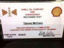 Shell hse cv